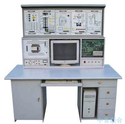 5,自动控制原理实验系统:由多个运算单元,信号源,复位键,稳压源