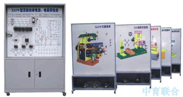 zykf-768型机床电气电路仿真实训考核装置:北京中育